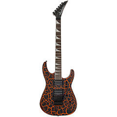 Jackson Soloist X Series SLX Neon Orange Crackle « Electric Guitar