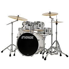 "Sonor AQ1 22"" Piano White Stage Drumset « Drum Kit"