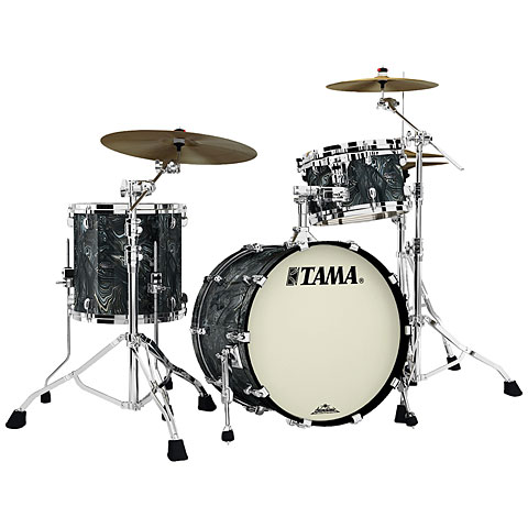"Tama Starclassic Maple 20"" Charcoal Swirl 3 Pcs. Shell Set"
