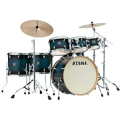 Tama Superstar Classic Exotix 7pc. Sapphire Burst Lacebark Pine « Drumstel