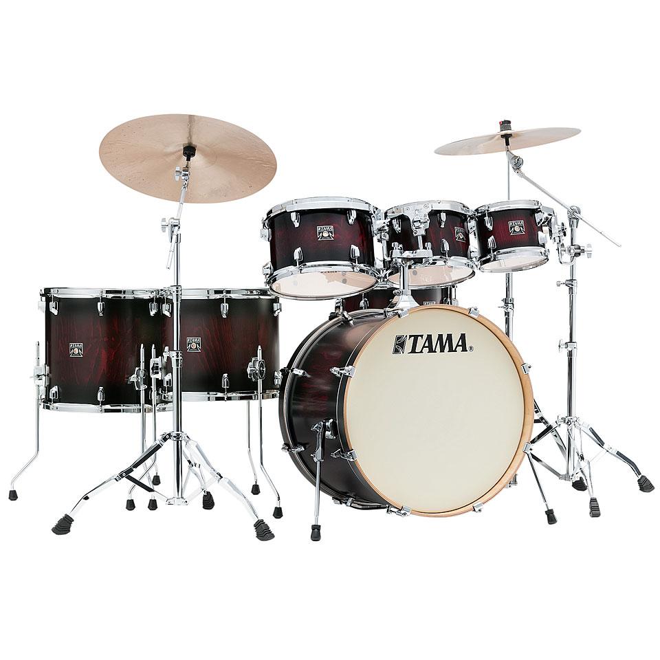 Akustikdrums - Tama Superstar Classic Exotix 7pc. Garnet Burst Lacebark Pine - Onlineshop Musik Produktiv