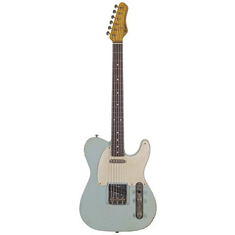 Haar Traditional T aged, Sonic Blue « E-Gitarre
