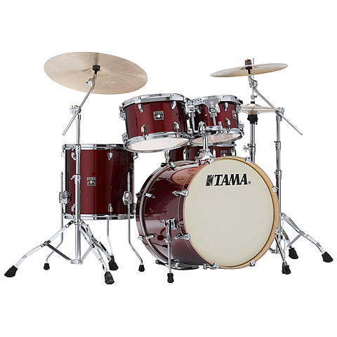 "Tama Superstar Classic 20"" Dark Red Sparkle"