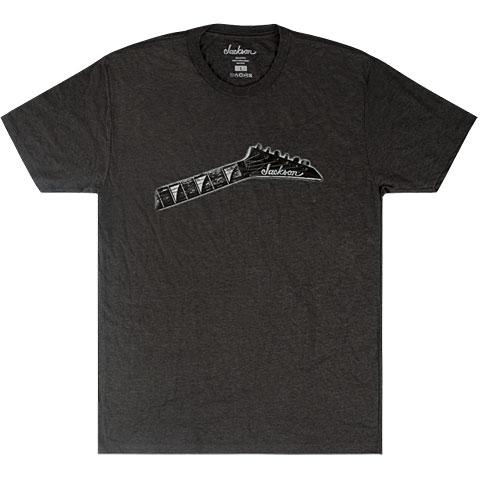 T-Shirt Jackson Headstock Grey L