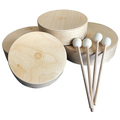 Rohema 61598 Wooden Tom Set « Tambor de mano