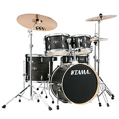 "Tama Imperialstar 18"" Black Oak Wrap « Drum Kit"