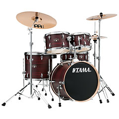 "Tama Imperialstar 18"" Burgundy Walnut Wrap « Drum Kit"