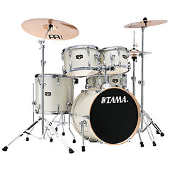 "Tama Imperialstar 18"" Vintage White Sparkle « Drum Kit"