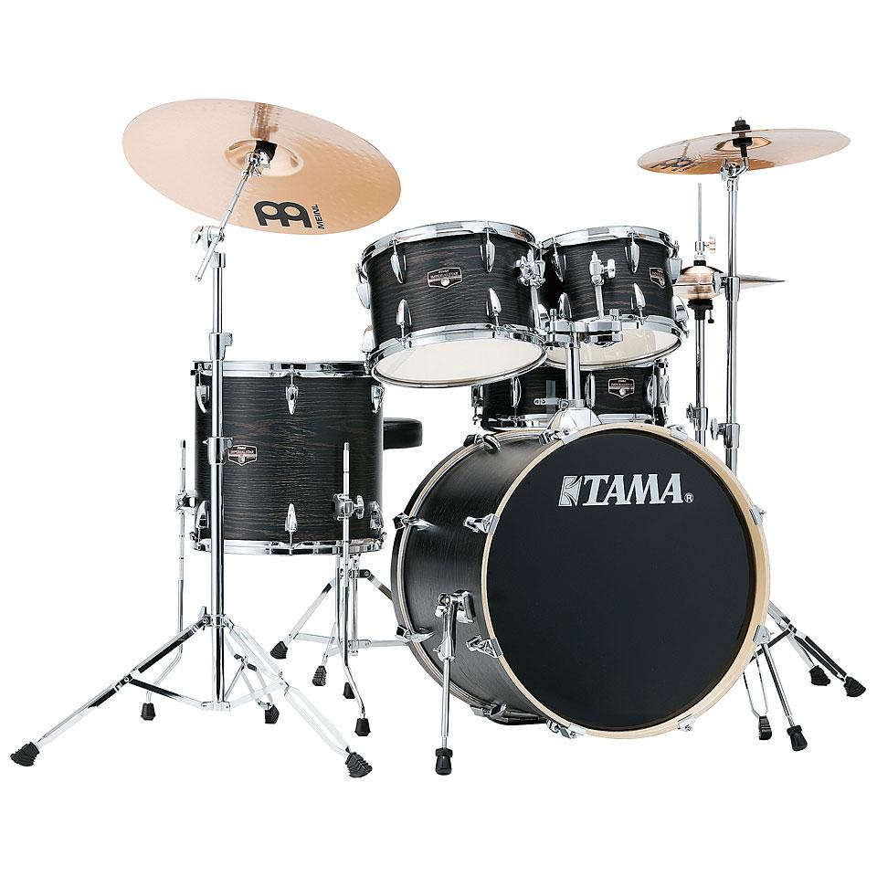 Akustikdrums - Tama Imperialstar 20 Black Oak Wrap Schlagzeug - Onlineshop Musik Produktiv