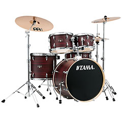 "Tama Imperialstar 20"" Burgundy Walnut Wrap « Batterie acoustique"