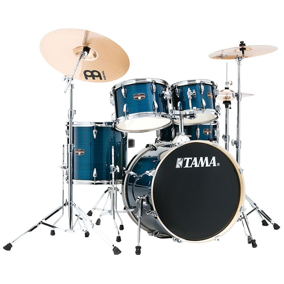 Akustikdrums - Tama Imperialstar 20 Hairline Blue Schlagzeug - Onlineshop Musik Produktiv