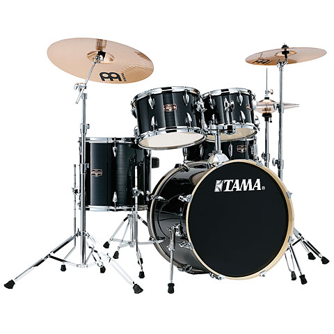 "Batterie acoustique Tama Imperialstar 20"" Hairline Black"