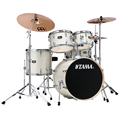 "Tama Imperialstar 20"" Vintage White Sparkle « Drum Kit"