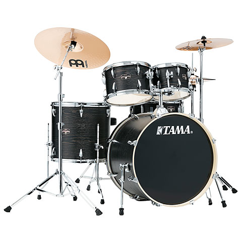 "Batterie acoustique Tama Imperialstar 22"" Black Oak Wrap"