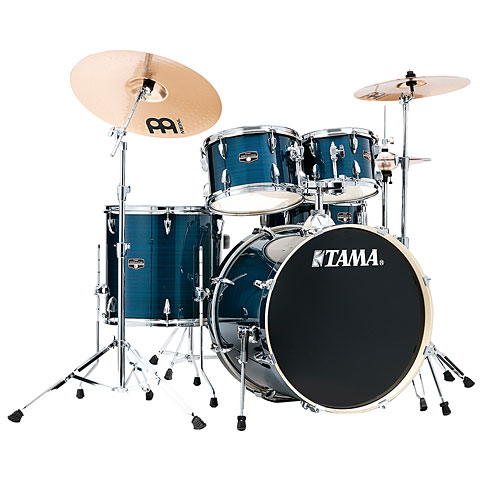 "Tama Imperialstar 22"" Hairline Blue"