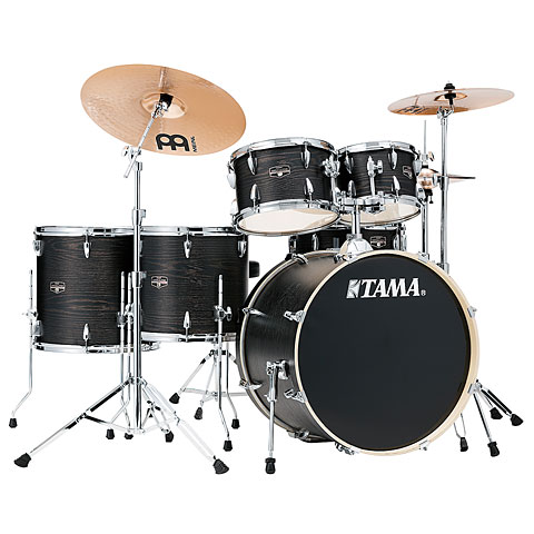 "Schlagzeug Tama Imperialstar 22"" Black Oak Wrap"
