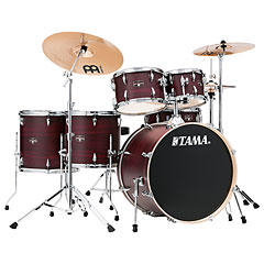 "Tama Imperialstar 22"" Burgundy Walnut Wrap « Drum Kit"