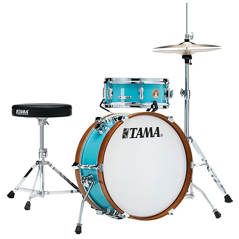 """Batería Tama Club Jam 18"""" Aqua Blue Shellset"""