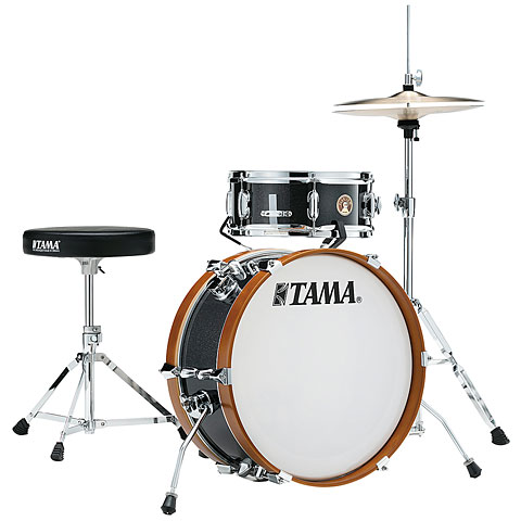 "Batterie acoustique Tama Club Jam 18"" Charcoal Mist Shellset"