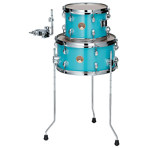 "Batterie acoustique Tama Club Jam 10""/14"" Aqua Blue Tom Add-on Pack"