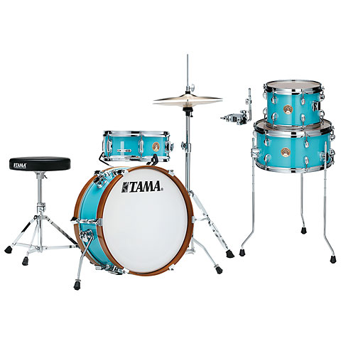"Tama Club Jam Mini 18"" Aqua Blue Full Shellset"