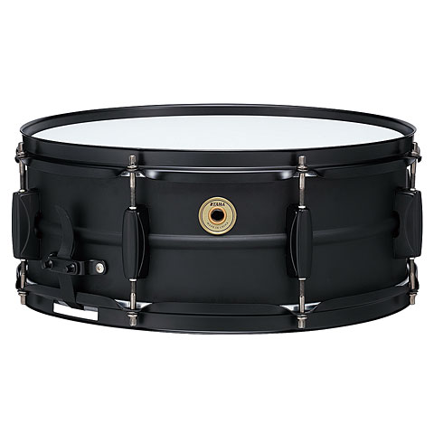 "Caisse claire Tama Metalworks BST1455BK 14"" x 5,5"" Black Steel Snare"