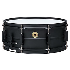 "Tama Metalworks 14"" x 5,5"" Black Steel Snare « Caisse claire"