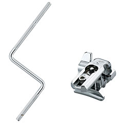 Tama MC8ZCB Hoop Grip Clamp with Percussion Rod « Perches/extensions percussion