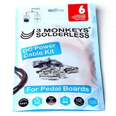3 Monkeys Solderless DC Power Cable Kit