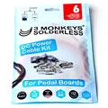 Stromverteiler/-kabel 3 Monkeys Solderless DC Power Cable Kit