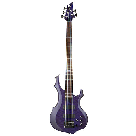 ESP LTD F-155DX S.T. Purple « Бас-гитара
