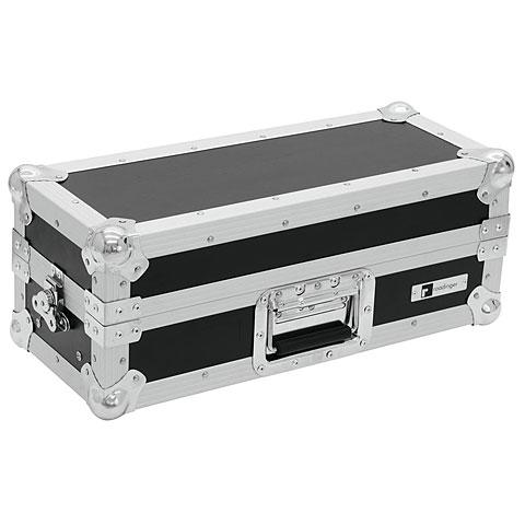 Rack de 19 pulgadas Roadinger Mixer-Case Profi MCA-19-N, 3HE, schwarz