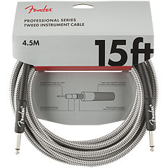 Fender Pro Series White Tweed 4,5 m « Instrumentenkabel