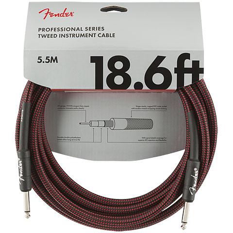 Instrumentenkabel Fender Pro Series RedTweed 5,5 m