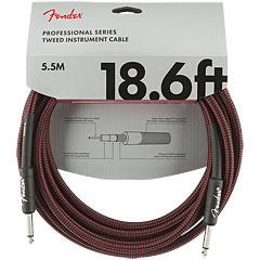 Fender Pro Series RedTweed 5,5 m « Câble pour instrument