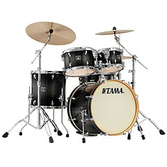 "Tama Superstar Classic 20"" Transparent Black Burst « Batería"