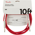 Cable instrumentos Fender Original Series 3 m FRD