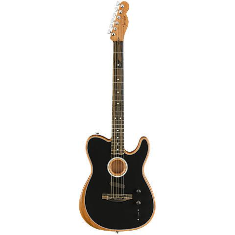 Fender Acoustasonic Tele Black « E-Gitarre