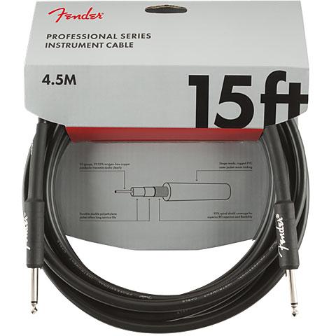 Instrumentenkabel Fender Pro Series 4,5 m BLK