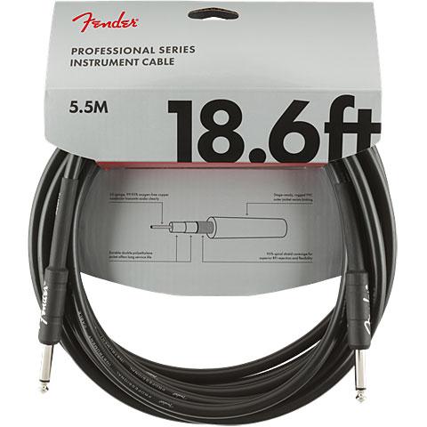 Instrument Cable Fender Pro Series 5,5 m BLK