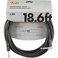 Fender Pro Series 5,5 m BLK Angled « Instrument Cable
