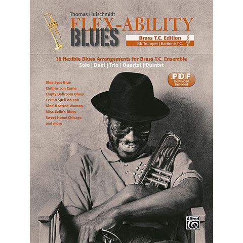 Notenbuch Alfred KDM FLEX-ABILITY BLUES T. C.