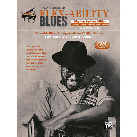 Libro de partituras Alfred KDM FLEX-ABILITY Rhythm Section