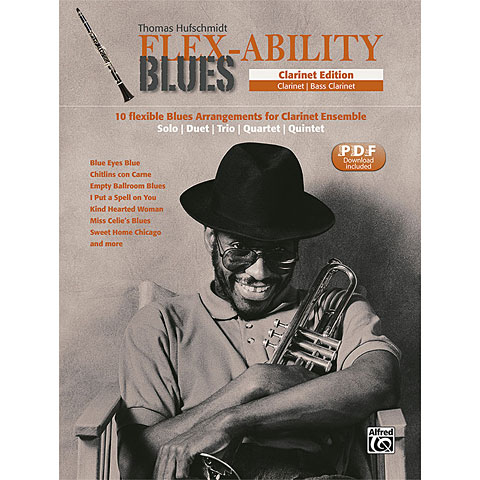 Libro de partituras Alfred KDM FLEX-ABILITY Clarinet