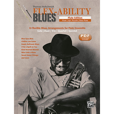 Notenbuch Alfred KDM FLEX-ABILITY BLUES Flute