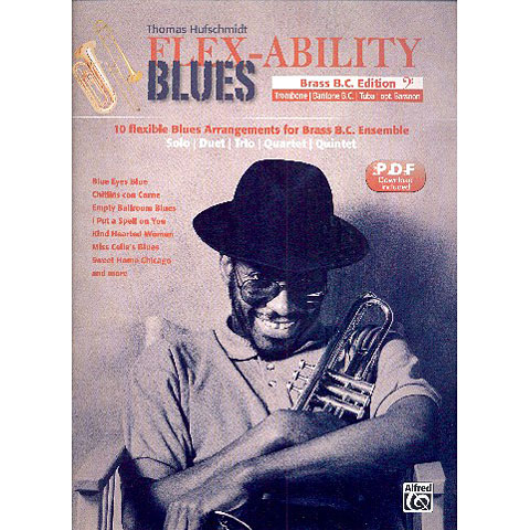 Libro de partituras Alfred KDM FLEX-ABILITY BLUES B. C.