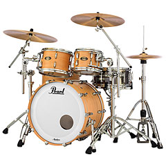 "Pearl Masters Maple Gum 22"" Satin Natural Maple « Drumstel"