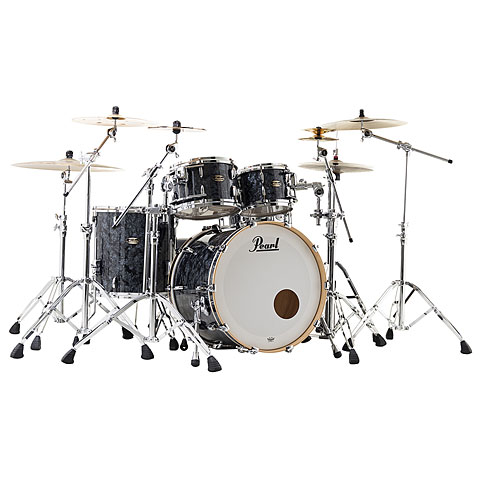 "Schlagzeug Pearl Masters Maple Gum 22"" Black Diamond Pearl"