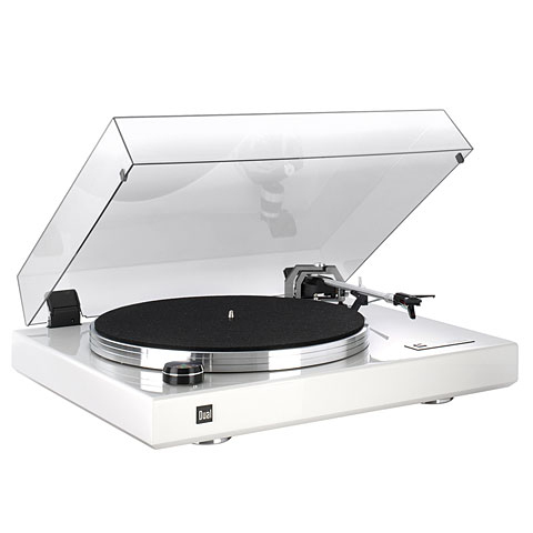 Plattenspieler Dual CS 600 Turntable White Gloss B-Stock