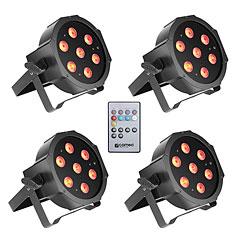 Cameo Flat PAR Tri 3W IR WH Set « LED-Leuchte